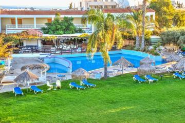 Отель Captain Karas Holidays Apartments Кипр, Протарас, фото 1