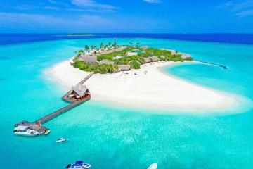 Отель Dhigufaru Island Resort Мальдивы, Баа Атолл, фото 1