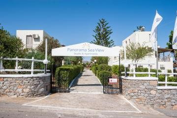 Отель Panorama Sea View Studio & Apartments Греция, о. Крит-Ираклион, фото 1