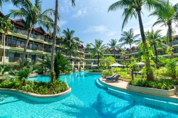 Отель Phuket Marriott Resort & Spa Merlin Beach Тайланд, пляж Патонг, фото 1