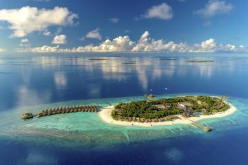 Отель Kudafushi Resort & Spa Мальдивы, Мале, фото 1