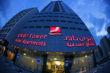 Отель Ewan Tower Hotel Apartments ОАЭ, Аджман, фото 1