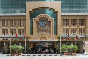 Отель Crystal Plaza Hotel ОАЭ, Шарджа, фото 1