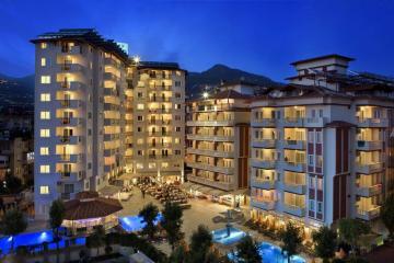 Отель Villa Sunflower Aparts & Suites Hotel Турция, Алания, фото 1