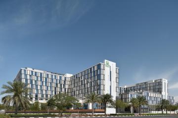 Отель Holiday Inn Dubai al Maktoum Airport ОАЭ, Дубай, фото 1