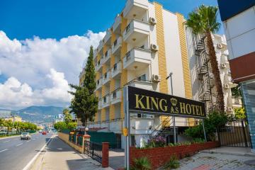 Отель Kingas Hotel Турция, Обагель, фото 1