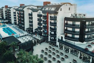 Отель Grand Uysal Beach Hotel Турция, Обагель, фото 1