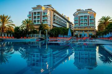 Отель Hedef Resort & Spa Турция, Конаклы, фото 1