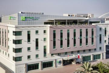 Отель Holiday Inn Express Dubai Safa Park ОАЭ, Дубай, фото 1