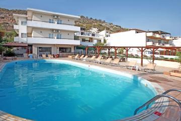 Отель Iraklis Apartment (Stalida) Греция, о. Крит-Ираклион, фото 1