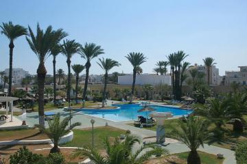 Отель Les Palmiers Тунис, Монастир, фото 1