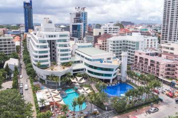 Отель A-One The Royal Cruise Hotel Тайланд, Паттайя Бич Роад, фото 1