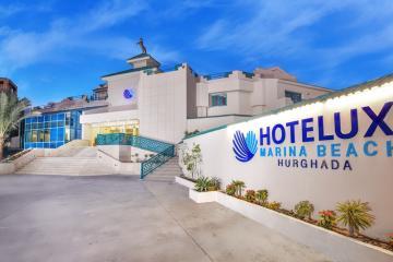 Отель Hotelux Marina Beach Hurghada Египет, Хургада, фото 1