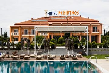 Отель Perinthos Hotel Греция, Салоники, фото 1