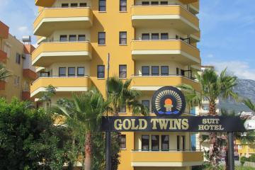 Отель Gold Twins Family Beach Hotel Турция, Махмутлар, фото 1