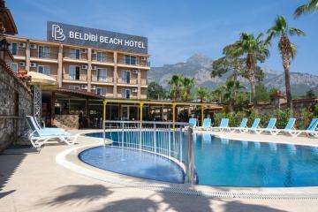 Отель Beldibi Beach Hotel Турция, Бельдиби, фото 1