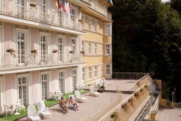 Отель Vitkov (Vltava Depandance) Чехия, Марианские Лазне, фото 1