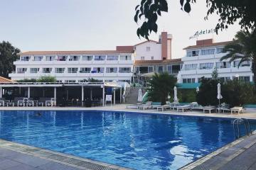 Отель Adelais Bay Hotel Кипр, Протарас, фото 1
