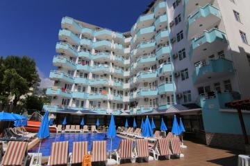 Отель Bariscan Hotel Турция, Махмутлар, фото 1
