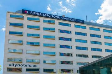 Отель Atenea Barcelona Испания, Барселона, фото 1
