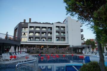 Отель Istanbul Beach Hotel Турция, Чамьюва, фото 1