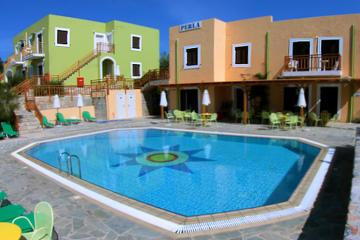 Отель Perla Apartments Греция, о. Крит-Ираклион, фото 1