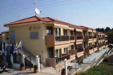 Отель 4-You Hotel Apartments Греция, Халкидики-Ситония, фото 1