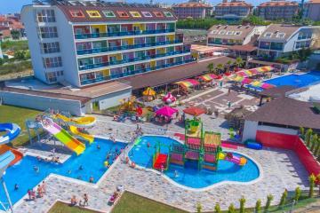 Отель Blue Paradise Side Hotel Турция, Эвренсеки, фото 1