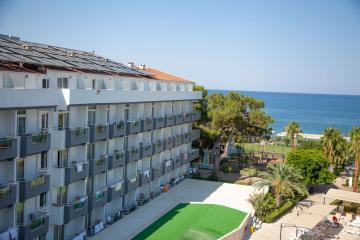 Отель Asdem Beach Resort Турция, Бельдиби, фото 1