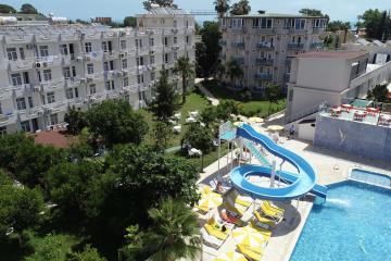 Отель Rios Latte Beach Hotel Турция, Бельдиби, фото 1