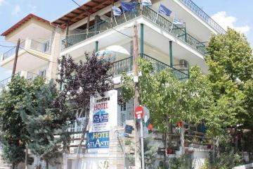 Отель Atlantis Hotel Греция, Халкидики-Калликратия, фото 1