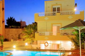 Отель Sunrise Hotel Studios Apartments Греция, о. Крит-Ретимно, фото 1