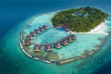 Отель Ellaidhoo Maldives by Cinnamon Мальдивы, Ари Атолл, фото 1