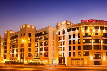 Отель Movenpick Hotel Apartments Al Mamzar ОАЭ, Дубай, фото 1