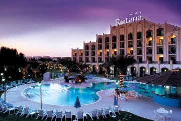 Отель Al Ain Rotana ОАЭ, Абу Даби, фото 1