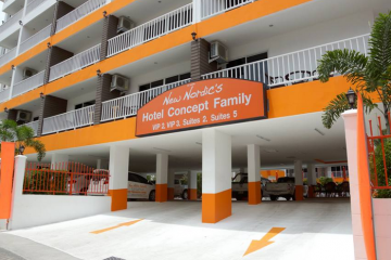 Отель Family Hotel by New Nordic Тайланд, На Джомтьен, фото 1