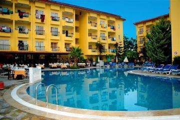 Отель Sun City Apartments & Hotel Турция, Сиде, фото 1