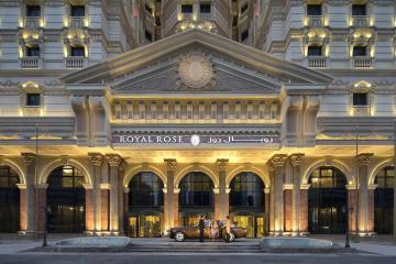 Отель Royal Rose ОАЭ, Абу Даби, фото 1