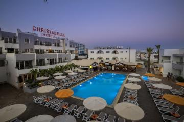 Отель Christabelle Hotel Apartments Кипр, Айя-Напа, фото 1