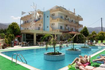 Отель Nikos Hotel Греция, о. Крит-Ираклион, фото 1