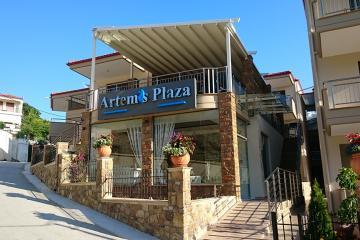 Отель Artemis Plaza Греция, Халкидики-Кассандра, фото 1